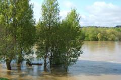 Crue de la Loire à Briare
