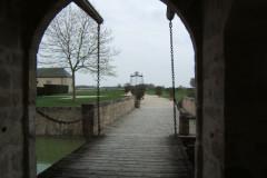 Pont-levis du château de Chamerolles