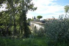 Le pont de Lunel sur la N113 enjambant le Vidourle