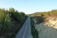 Calvisson,  un tunnel permet de passer sous la D40