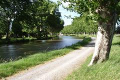 Le canal en avril