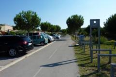 Départ de la voie verte à Caveirac