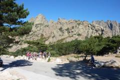 Le col de Bavella,  Il relie Sari-Solenzara à Zonza dans l'Alta Rocca