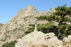 Le col de Bavella, altitude : 1218 m