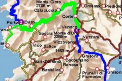 Carte Venaco - Porto