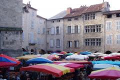Villefranche-de-Rouergue, le marché