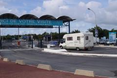 Gare pour la traversée de la Gironde