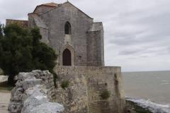 Talmont-sur-Gironde, l'église romane Sainte-Radegonde