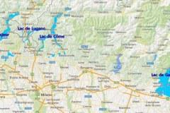 La région des lacs italiens