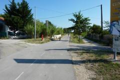 La voie verte à Nages-et-Solorgues
