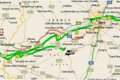 Carte Amboise - Azay-le-rideau
