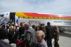 Embarquement sur le CRJ200