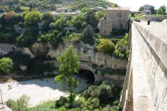 La rivière souterraine vue du viaduc