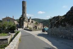 La tour octogonale du château du XIIIème siècle