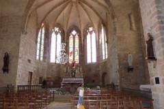 Mourèze, l'église