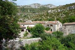 Le hameau de Navacelles