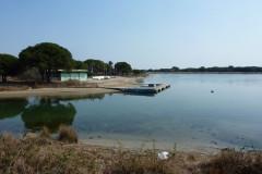 L'étang du Ponant à la Grande-Motte