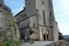 Église fortifiée Saint-Cirq-et-Sainte-Juliette de Saint-Cirq-Lapopie