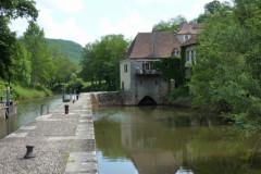 Saint-Cirq-Lapopie, l'écluse