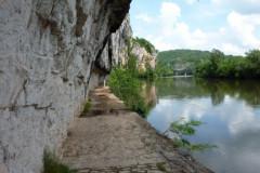 Saint-Cirq-Lapopie, le chemin de halage
