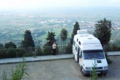 Cortona, vue imprenable