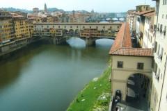 Ponte Vecchio vu de la Galerie des Offices