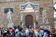 Entrée palazzo Vecchio