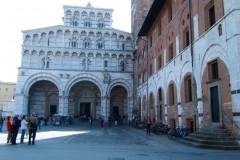 Le Dôme de Lucques est la cathédrale de la ville de Lucques