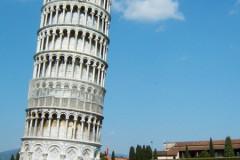 Pise, la tour penchée
